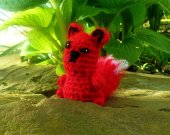 Little Fox - Crochet Amigurumi Stuffed Animal/Doll