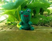 Little Frog - Crochet Amigurumi Stuffed Animal/Doll
