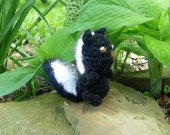 Little Skunk - Crochet Amigurumi Stuffed Animal/Doll