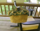 Jute Purse/Handbag/Small Tote - Crochet