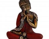 Meditative Thai Buddha Statue In Fiber HNM-HHDE-10006