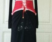 Belt-corset felted