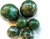 AA grade--Gemstone Malachite  Lapis Pyrite  Rock Sphere Green Ball Green Malachite  Gem Stone Ball for Crystal Cabochon Rock 20-100mm