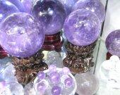 Batch Amethyst  Rock Rose Quartz Crystal Sphere - Hand Carved Gem Stone Ball for Crystal Cabochon Rock 20-100mm