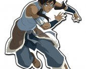 Legend of Korra Laptop Notebook Vinyl Decal Sticker