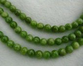 High Quality Natural Chrysoprase Round  Balls Beads- Chrysoprase Beads Olive  gemstone 6-10mm full strand