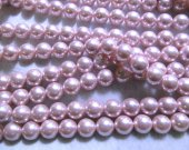 wholesale 2strands 3-12mm Pearl Jewelry grey Silver white Pink Red  round ball Pearl beads jewelry for Make Necklace