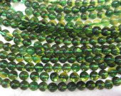 AA+ grade --6-10mm 16inch Citrine Green Crystal  Beads  Round Ball  Translucent Gemstone Beads Citirne Jewelry