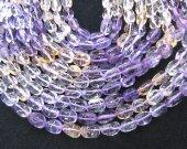 Full strand 16inch Ametrine Rock Citrine Quartz Gemstone Gradutated nugget Freeform faceted rock citrine beads 8-20mm