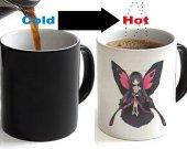 Accel World Kuroyukihime Color Changing Ceramic Coffee Mug CUP 11oz