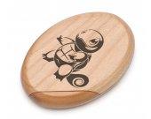 Pokemon Squirtle Wooden Pocket Mirror