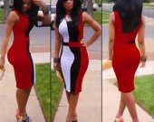 Bodycon Red Dress for Women  (S M L)