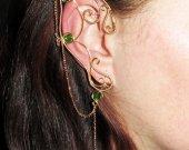 Ancient Wood Elven Ears, elf ears, elf costume, elvish jewelry, Sidhe, elf ear cuff, elf ear wrap, cosplay, LARP, faery, fairy ears, wire