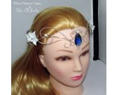 Elven Princess tiara, Elven Wedding, wedding tiara, elven circlet, elven diadem, elvish crown, elvish jewelry, nature jewelry, fairy crown