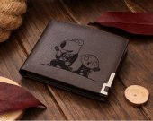 Family Guy Brian and Stewie Griffin Leather Wallet