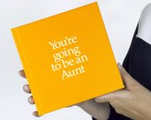 You're Going to be an Aunt 12 page gift book with special gifts inside