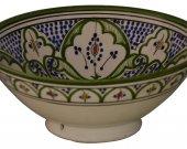 Serving Bowls Pasta Deep Salad Bowl Moroccan Fruit Spanish Dish Soup Rice Round