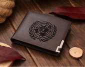 Guilty Crown United Nations Logo Leather Wallet