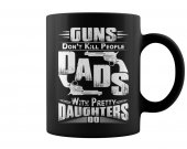 guns don't kill people cup