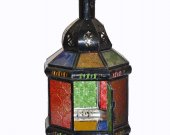 moroccan nice mital iron lamp new morocco home decor glass multiple color doors