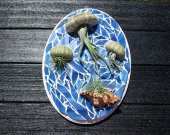 Mosaic wall art, Air Plant, Air Planter, Air Plants, wall planter, indoor planter, Tillandsia