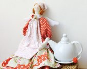 Tilda Angel of Home Cosiness and Bakery.Doll Soft toy Rag doll Fabric doll Home decor Kitchen decor Mothers Gift for Girl-friend