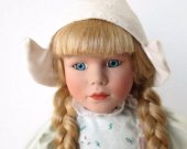 Dutch Girl Porcelain Doll