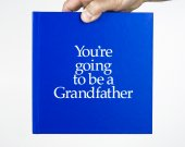 Grandfather to be Gift with special gifts inside for both Grandfather to be and new baby.