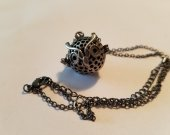 Owl Essential Oil Diffuser Pendant Necklace with Free Essential Oil