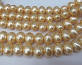 8-20mm 16inch Pearl Jewelry white  egg olive  red grey black golden black gray golden   Pearl beads jewelry Pearl necklace