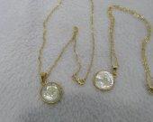 12strs Neckalce Zodiac  Alphabets Letter Beads ,Animals shell jewelry Mother of Pearl Alphabet Beads , Mother Of Pearl Letter Beads