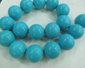 High quality 2strands 2-20mm  Turquoise Gemstone  Round  Ball  green blue  Loose Beads turquoise necklace
