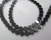 Wholesale Hematite Beads Roundel Disc Hexagon  Faceted Silver Gold Gunmetal Hematite Jewelry Loose Beads 2strands 3-10mm