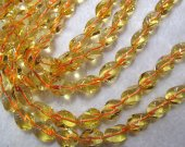 2strands 8-18mm Citrine Quartz Amethyst Quartz Cubic Twisted Yellow Rock Crystal Jewelry Loose Beads