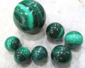 AA grade--Gemstone Malachite  Rock Sphere Green Ball Green Malachite  Gem Stone Ball for Crystal Cabochon Rock 25mm