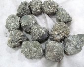 large genuine Raw Pyrite Crystal Nuggets,Freeform  Iron Chunky Gold  Pyrite  rock Beads,chip pyrite cabochos 15-40mm