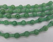 high quality 10 SETS DongLing Jade Beads 3 hole beads,T-Beads Set, Guru Beads, Prayer Beads, Mala Making Cones Beads, T hole set connectors