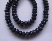 2strands 4-16mm  Jade  Beads, Natural Stone Beads,  Jade jewelry   Round rondelle faceted  sapphire blue lapis blue Rainbow Loose beads