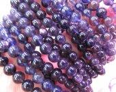 AA grade Lolite Gemstone Tanzanite Beads, Genuine Tanzanite Gemstone Beads,  Blue Purple Lolite  Tanzanite Stone Beads Bracelet 6-16mm 8inch
