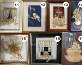 Wheat Straw Frame Pictures