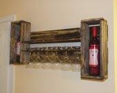 Rustic style Wine rack