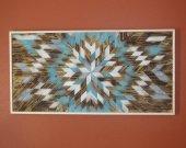 Chaotic patern, Wood Wall Art, Family wall art, reclaimed wood sign, wood decor, woodart, wooden wall art, Geometric pattern