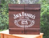 Dartboard Cabinet, handmade cabinet, customized, reclaimed wood, weathered