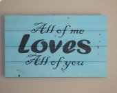 Love sign, Valentines sign, Custom sign, wood sign, weathered wood sign, reclaimed wood sign