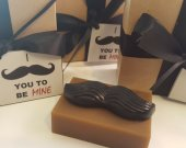 mustache soap bar - valentines day gift - gift for men - gift for boyfriend - husband gift - gift for him - gift for brother - guys gift