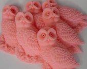 fall wedding favor - 30 Owl Soap - woodland owl favor - halloween bridal shower favor - unique wedding favor -  bridal shower favor