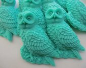 50 owl soap favors - jungle baby shower favors - animal wedding favors - harry potter birthday party favors - woodland bridal shower favors