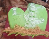 Tombstone soap bar - Halloween decor - creepy soap - monster Halloween soap - Halloween treats - Halloween for kids - Halloween party ideas