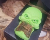 Skull soap bar - Halloween decor - creepy soap - monster Halloween soap - Halloween treats - Halloween for kids - Halloween party ideas