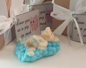 pig soap bar - valentines day gift - gift for mom - gift for her - gift for her - valentines for wife- valentines for kids - gift for boys